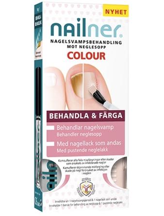 Nailner Colour nagelsvamp